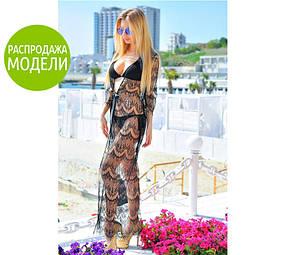 """Кружевная пляжная туника """"Санторини"""""""