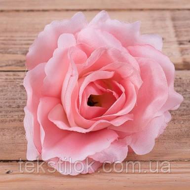 """Бутон розы """"соня"""" розовый 10 см Цветы искусственные"""