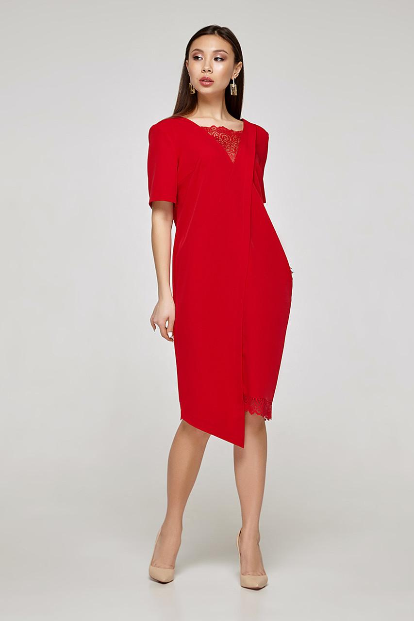 2319 платье Аманда, красный (S)