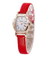 Наручные часы женские с красным ремешком код 291, фото 1