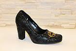 Туфли женские черные Т36 УЦЕНКА, фото 3