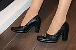 Туфли женские черные Т36 УЦЕНКА, фото 6