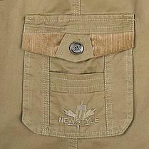 МужскоелетоБольшойразмерLooseДоставка Шорты Повседневный хлопок Multi Pocket Эластичные шорты Брюки - 1TopShop, фото 3