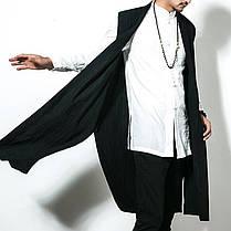 INCERUN Мужской китайский стиль Винтаж Хлопок Loose Fall кардиган без рукавов пальто - 1TopShop, фото 2