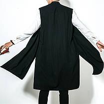 INCERUN Мужской китайский стиль Винтаж Хлопок Loose Fall кардиган без рукавов пальто - 1TopShop, фото 3