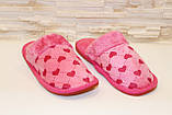 Тапочки комнатные розовые Тп18, фото 2