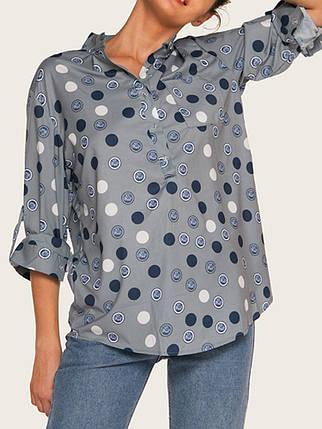 Женское Элегантные рубашки с длинными рукавами Polka Dot - 1TopShop, фото 2