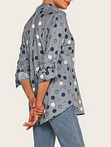 Женское Элегантные рубашки с длинными рукавами Polka Dot - 1TopShop, фото 3