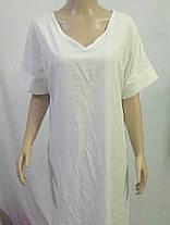 Plus Размер V-образным вырезом Разделенный сплошной цвет Винтаж Платье - 1TopShop, фото 2