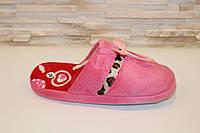 Тапочки комнатные женские розовые Тп34, фото 1