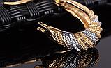 Позолочені сережки код 1264, фото 4