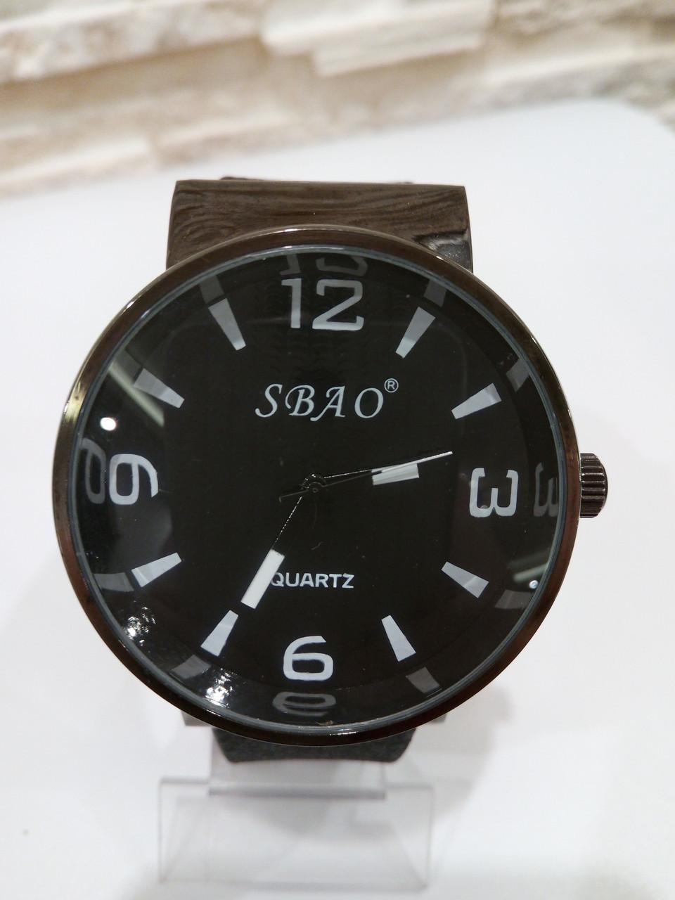 Мужские наручные часы с черным ремешком код 18