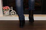 Ботинки женские черные Д515, фото 7