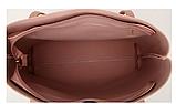 Сумка женская серая с кисточкой код 3-326, фото 2