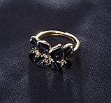 Позолоченный комплект цепочка, кулон, серьги и кольцо код 1108, фото 4