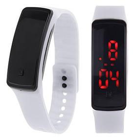 Электронные часы браслет LED