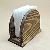 Салфетница деревянная Халон капучино