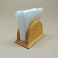 Салфетница деревянная Халон мини карри