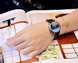 Стильные часы женские с коричневым ремешком код 359, фото 2