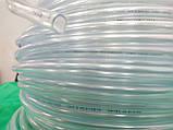 Шланг ПВХ Symmer Ø 4мм. высокого давления, прозрачный пищевой (универсальный) 200м., фото 4