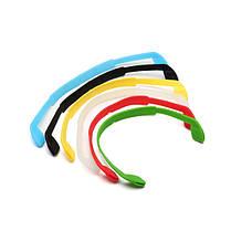 Силиконовый гель Упругий противоскользящий ремень очков Платок Плавательные спортивные ремени очков ремешок шнур - 1TopShop, фото 2