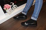 Балетки женские черные Т886, фото 5