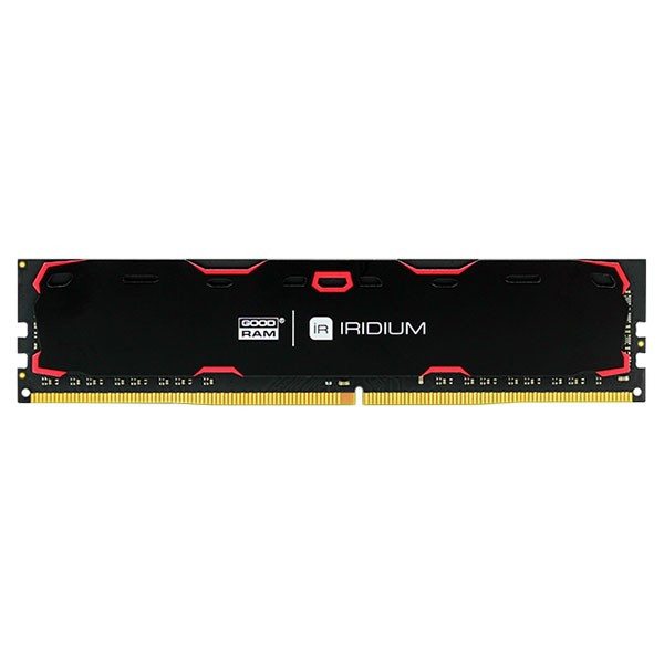 Память GOODRAM 4 GB DDR4 2133 MHz Iridium Black (IR-2133D464L15S/4G)