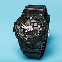 Часы Casio  G-Shock GA-700 ALL BLACK  (касио джи шок)