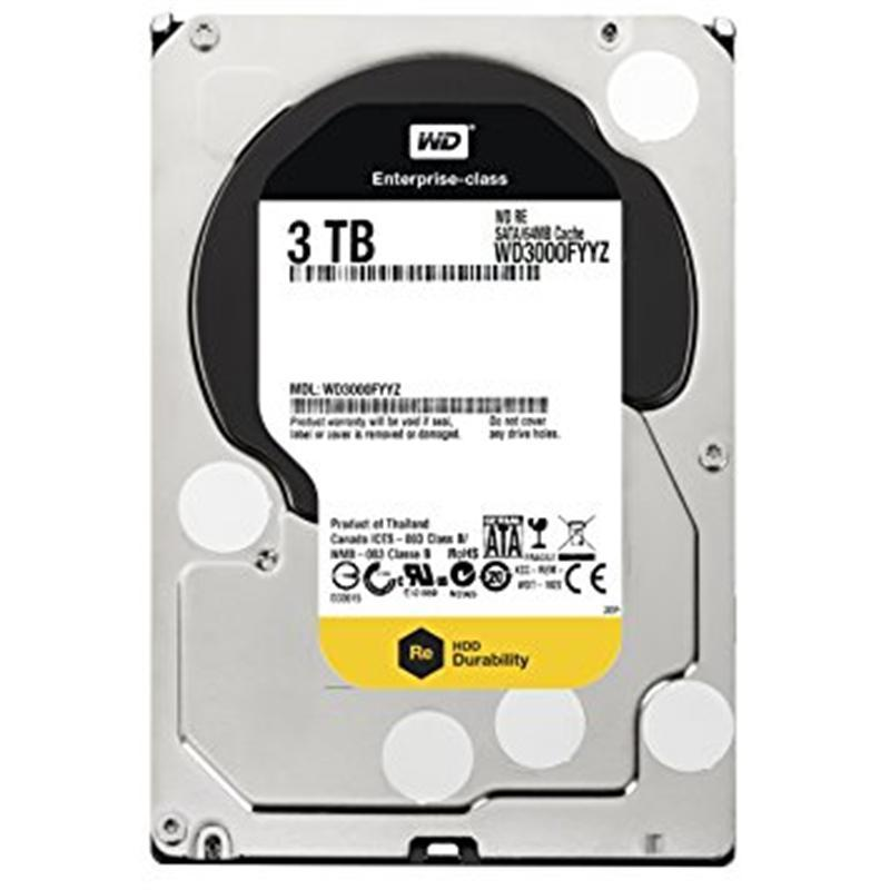 Накопитель HDD SATA 3.0TB WD RE 7200rpm 64MB (WD3000FYYZ) гар. 12 мес.