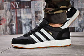 Кроссовки мужские  в стиле Adidas Iniki, черные (15742) [  44 46  ]