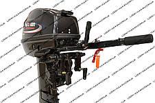 Лодочный 2-х тактный мотор PARSUN T15 BMS(бензомотор для лодок, мотор недорого), фото 3
