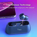 Tiso i4 TWS Полностью беспроводные раздельные наушники Bluetooth 5.0 гарнитура-наушники, фото 3