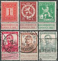 Бельгия 1912