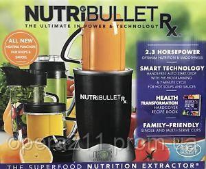 NutriBullet RX 1700W (AS SEEN ON TV)