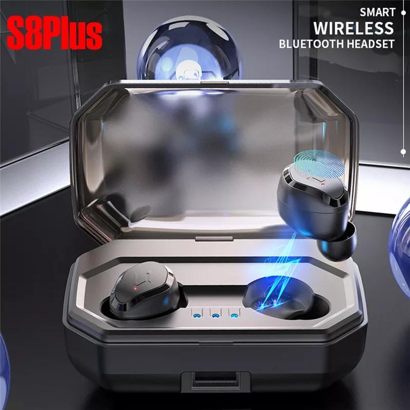 TWS-S8 Plus TWS Полностью беспроводные раздельные наушники Bluetooth 5.0 гарнитура-наушники