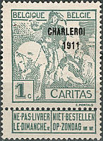 Бельгия 1911
