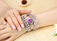 Наручний годинник-браслет жіночий код 361