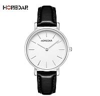 Наручные женские часы с черным ремешком код 382, фото 1