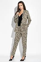 Жакет женский AG-0009426 Тигровый-золотой