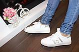 Сліпони жіночі білі Перли Т959, фото 7