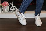Сліпони жіночі білі Перли Т959, фото 8