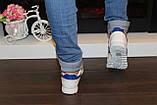 Модні кросівки білі Т981, фото 5