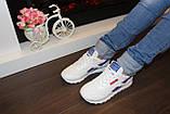 Модні кросівки білі Т981, фото 6