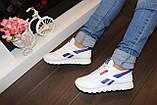 Модні кросівки білі Т981, фото 7