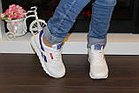 Модні кросівки білі Т981, фото 8
