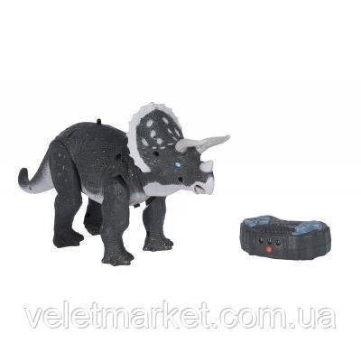 Интерактивная игрушка Same Toy Динозавр Dinosaur Planet серый со светом и звуком (RS6137BUt)