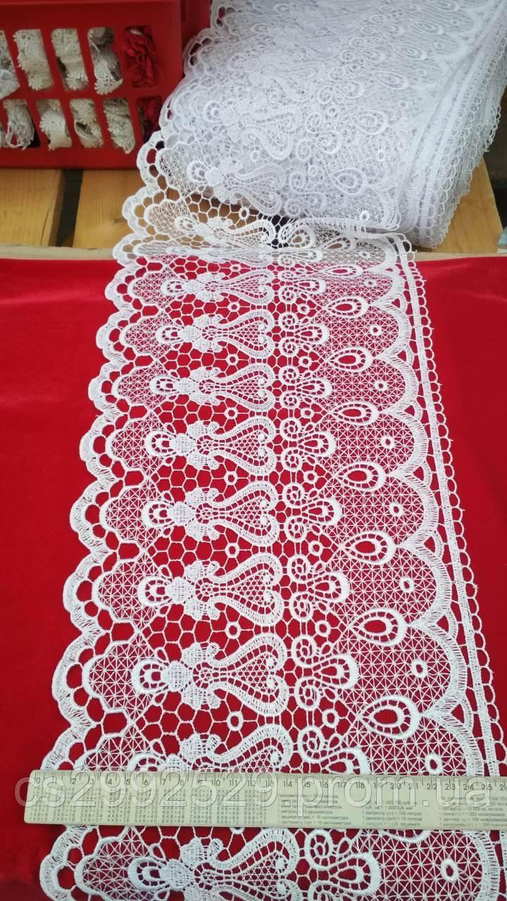 Кружево макраме белое. Кружево макраме для пошива и декора