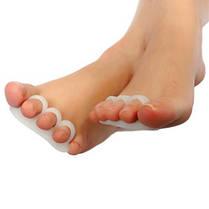 Силиконовый Гель Сепаратор пальца ноги Корректор пальца Выпрямитель для ног Hammer Подставка для ног Подголовник Подушка для облегчения бол - 1TopShop, фото 2