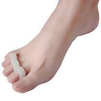 Силиконовый Гель Сепаратор пальца ноги Корректор пальца Выпрямитель для ног Hammer Подставка для ног Подголовник Подушка для облегчения бол - 1TopShop, фото 3