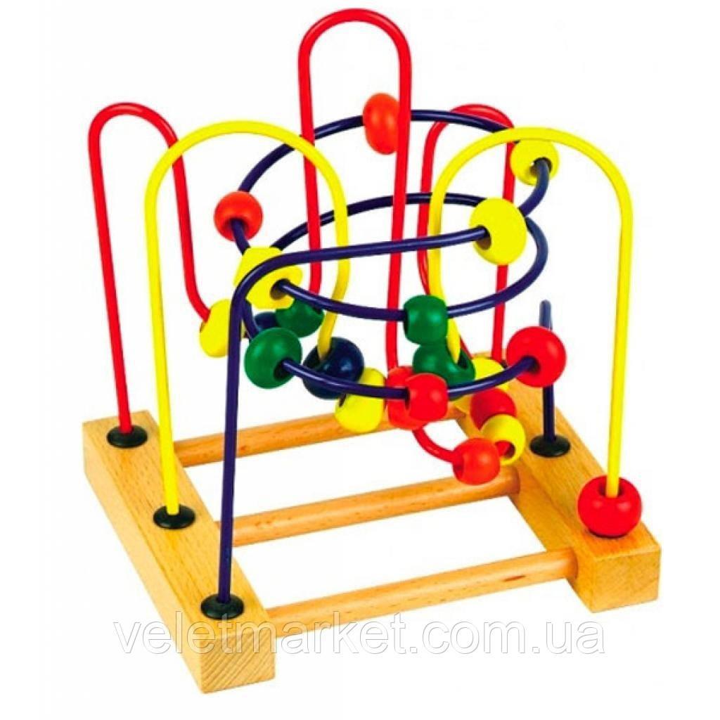 Развивающая игрушка Мир деревянных игрушек Лабиринт 3 (Д072)